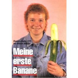 Zonengabi Erste Banane