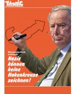 "Postkarte ""Nazis Hakenkreuze"" November 2018"