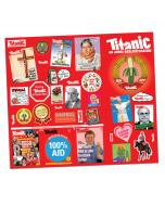 Stickerbogen: 40 Jahre TITANIC