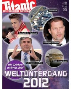 TITANIC Heft Januar 2012 (Papier)