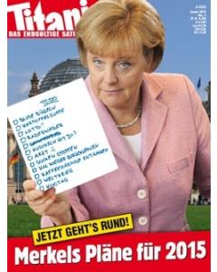 TITANIC Heft Januar 2015 (Papier)