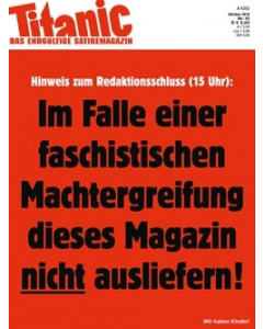 TITANIC Heft Oktober 2018 (Papier)