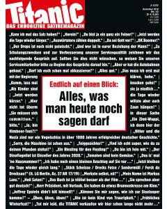 TITANIC Heft Dezember 2019 (Papier)