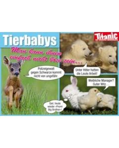 Tierbabys: Man kann ihnen einfach nicht böse sein…