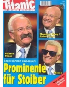 TITANIC Heft August 2002 (Papier)