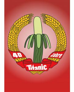 Postkarte 40 Jahre TITANIC