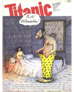 TITANIC Heft Januar 1981 (Papier)