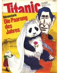 TITANIC Heft August 1981 (Papier)