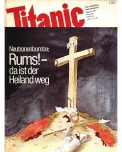 TITANIC Heft Oktober 1981 (Papier)
