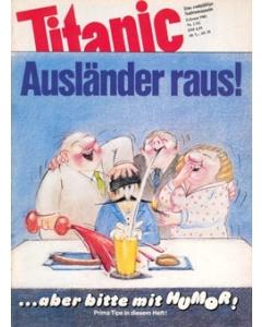 TITANIC Heft Februar 1982 (Papier)