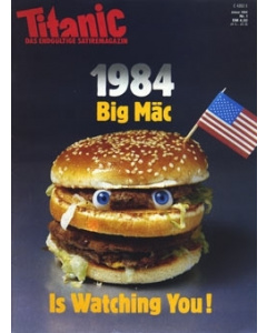 TITANIC Heft Januar 1984 (Papier)