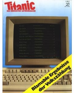 TITANIC Heft Juni 1987 (Papier)