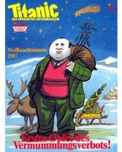 TITANIC Heft Dezember 1987 (Papier)