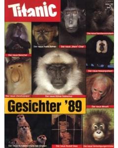TITANIC Heft Januar 1989 (Papier)