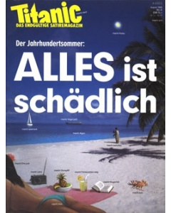 TITANIC Heft August 1989 (Papier)