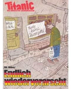 TITANIC Heft März 1990 (Papier)