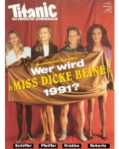 TITANIC Heft Februar 1991 (Papier)