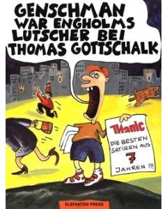 Genschman war Engholms Lutscher bei Thomas Gottschalk
