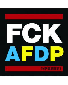 10 FCK AFDP Aufkleber