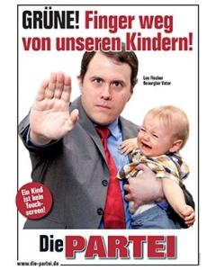 Grüne! Finger weg von unseren Kindern!