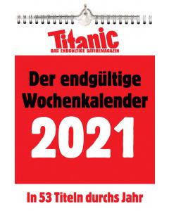 Der endgültige Wochenkalender 2021
