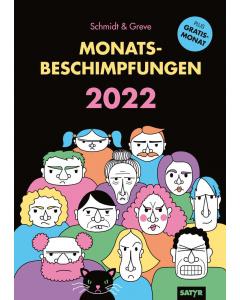 Kalender: Monatsbeschimpfungen 2022