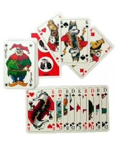 Skat-Spielkarten Rote Strolche