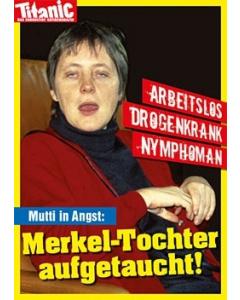 Merkel-Tochter aufgetaucht!