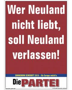 Poster: Neuland