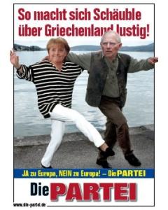 So macht sich Schäuble über Griechenland lustig!