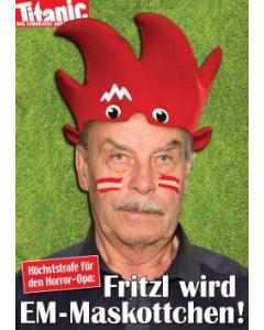 Fritzl wird EM-Maskottchen!