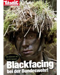 "Postkarte ""Blackfacing Bundeswehr"" Juni 2017"
