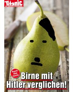 """Postkarte """"Hitlerbirne"""" April 2017"""