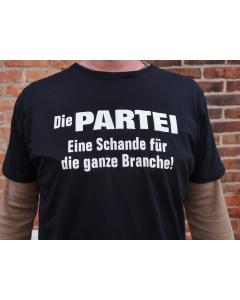 PARTEI-Shirt-Schande