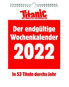 Der endgültige Wochenkalender 2022