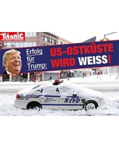 Erfolg für Trump: US-Ostküste wird weiß!